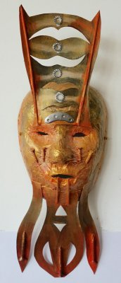 Les masques - art contemporain